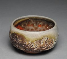 Tea Bowl Wood Fired Chawan F55 by JohnMcCoyPottery on Etsy