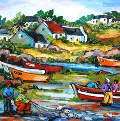 Marlise le Roux ~ Alice Art Gallery, South Africa African Paintings, Zombie Art, South African Artists, Virtual Art, Colorful Wall Art, Naive Art, Art For Art Sake, Street Art Graffiti, Landscape Art