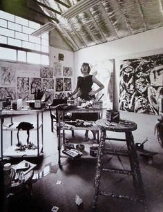"""""""I need to be alone for certain periods of time or I violate my own rhythm.""""  ~Lee Krasner, abstract painter and wife of Jackson Pollock"""