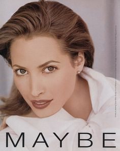 Christy Turlington for Maybelline  1997