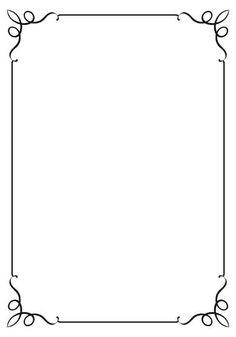 Resultado de imagen para bordes clipart hojas for Crossing the line certificate template
