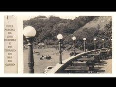 São Vicente - Ilha Porchat e a Praia do Itararé - Bar do Cassino, mais tarde Ilha Porchat Clube.