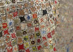 Unframed: Tapestries of Trash by El Anatsui
