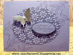 Monochromatic Birthday Card | Stampin' Up!