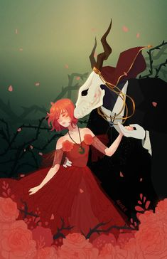 The Ancient Magus Bride Fanart Manga Anime, Anime Art, Elias Ainsworth, Chise Hatori, The Ancient Magus Bride, Card Captor, Anime Kunst, Fan Art, Anime Love