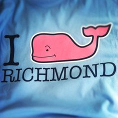 Two of my favorite things vineyard vines and Richmond