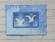 Sea Gulls Wall Quilt Pattern