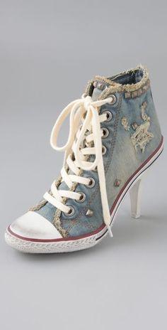 Ash Stones High Heel Sneakers