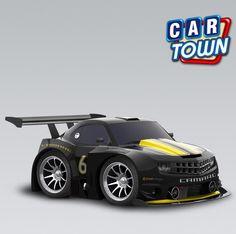 NOVEDAD en Car Town: el Chevrolet Camaro Circuit Racer 2010! Uno de los favoritos americanos, el Camaro es conocido por su estilo y velocidad. ¡Añade hoy uno de estos veloces autos para tu taller, ellos no quedarán disponibles por mucho tiempo. 30/03/2013