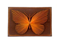 Butterfly String Art Wall Hanging Plaque by TheOrangeCollective, $42.95