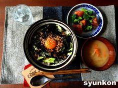 【簡単!!カフェ丼】肉みそキャベツ卵かけごはん と 笑うメディアクレイジー | 山本ゆりオフィシャルブログ「含み笑いのカフェごはん『syunkon』」Powered by Ameba