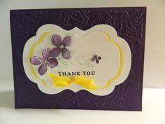 Thank You */ by Barbara criss john - Cards and Paper Crafts at Splitcoaststampers