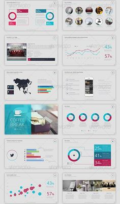 30 powerpoint templates | design | pinterest | presentation design, Modern powerpoint