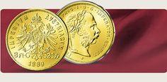 Bild: 2er Set: Original 8-Gulden-Goldmünzen aus Österreich/Ungarn!