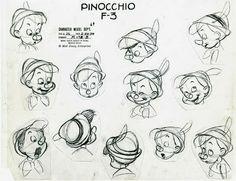 Cartoon Concept Design: Disney Animation Model Sheets