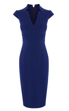 V-NECK DRESS | Luxury Women's mother-of-the-bride | Karen Millen