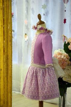 Vestido para celebraciones, comuniones, bodas, bautizos, etccc