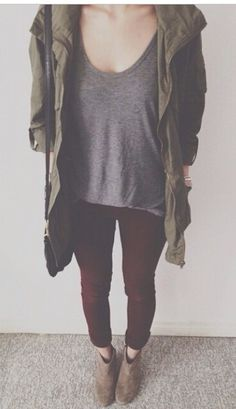 Green, gray, burgundy, + taupe Yes