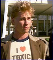 """Real Genius - """"Was it a dream where you see yourself standing in sort of sun-god robes on a pyramid with a thousand naked women screaming and throwing little pickles at you?"""" ~Loved this movie! 80s Movie Costumes, 80s Costume, 80s Movies, Great Movies, Real Genius, Knight Costume, Val Kilmer, Weak In The Knees, Perfect Man"""