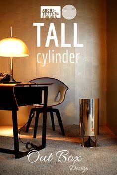 Tall Cylinder luce tanto como se escucha. Su poder y estética no tienen comparación.