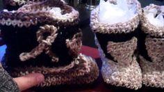 Crochet baby Cowboy Boots