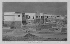 Public school for girls. Sidi Ifni (سيدي إفني), Morocco. Under spanish sovereignty until 1969.