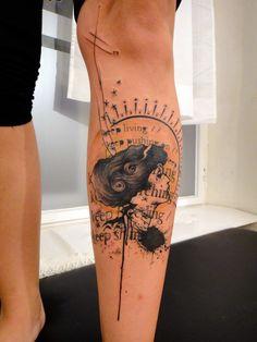 Loic, guest artist, Tattoo Culture, NY.