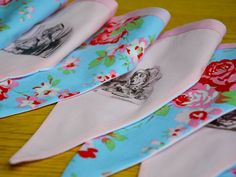 Gorgeous Cath Kidston meets Alice in Wonderland Bunting! Alice is so rare these days and i just love her! check it out www.saffroncrafts.co.uk