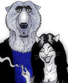 Bear & Cat