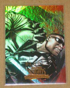 Marvel Masterpieces Set 3 (Upper Deck 2008) Knights Chase Card MK 1 Blade EX