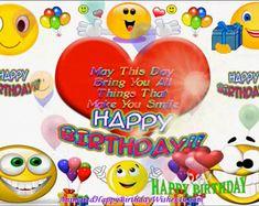 Free birthday videos | Etsy Animated Happy Birthday Wishes, Happy Birthday Wishes Photos, Happy Birthday Video, Birthday Songs, Singing Happy Birthday, Happy Birthday Messages, Happy Birthday Greetings, Birthday Pictures, Birthday Images