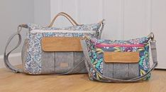The Dogwood Travel Duffel pattern has just been released and if you love the style and shape of the bag but don't need a large size, you can create a smaller ve