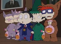 Rugrats!  This would be amazing dress up with a group as an adult.