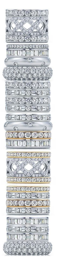 TIFFANY Celebration Rings stacked by LoLo