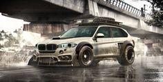 ArtStation - BMW X5 Drive _ Post apocalyptic urban, Yasid Oozeear