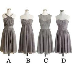 Short Bridesmaid Dresses Pst396 on Luulla
