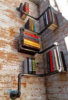 Original bookshelf, doesn't work for all size books but definitely works to…