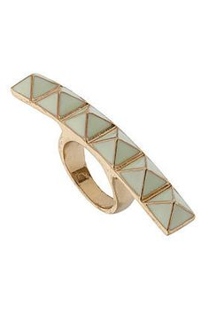 Studded Wide Ring