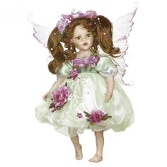 Farina Fairy Porcelain Doll