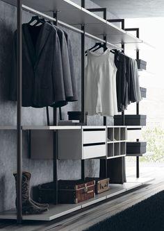 Comfortable and Suitable Wardrobe Design for Big & Small Bedroom Modern Closet, Modern Wardrobe, Wardrobe Design, Bedroom Wardrobe, Wardrobe Closet, Built In Wardrobe, Clothing Store Interior, Dressing Room Closet, Luxury Closet