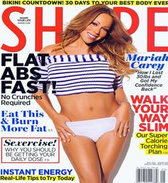 Mariah Carey talks post pregnancy weight loss battle. What about post beer, when am I gonna get rid of this beer gut. :-)