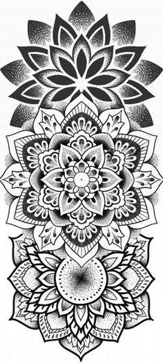 Floral Tattoo Design, Mandala Tattoo Design, Armband Tattoo Design, Tattoo Designs, Mandala Drawing, Elbow Tattoos, Mini Tattoos, Finger Tattoos, Lion Tattoo Sleeves