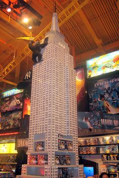 All sizes | NYC - Times Square - Toys 'R' Us - Lego Empire State Building, via Flickr.