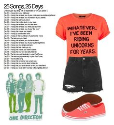 """""""Day 19: First Alphabetically {D}"""" by quincy-osborn ❤ liked on Polyvore featuring Topshop and Vans"""