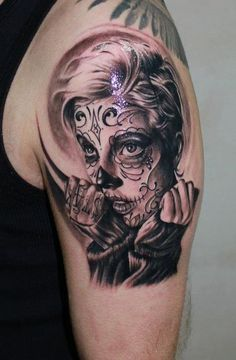 Tattoo of The Day  #InkedMag #tattoos #tattoo #tattooed #art #ink #Inked #sugarskull