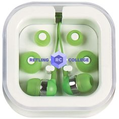 Promotional Earbuds w/ Travel Case