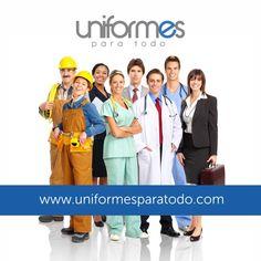 Una imagen agradable, segura y representativa, transmite confianza a tus clientes; conoce ahora nuestro portafolio en: www.uniformesparatodo.com #Colombia #Empresas #Uniformes