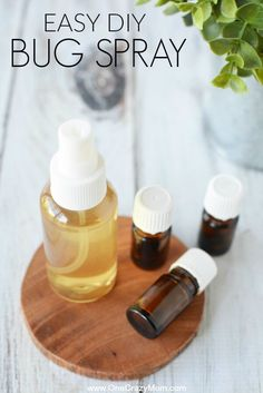 DIY Bug spray is very simple to make. This natural mosquito repellent works incredibly well and will prevent bug bites. Try this DIY mosquito repellent on the entire family. Everyone will love the fresh scent and how well it works. Diy Mosquito Repellent, Natural Mosquito Repellant, Insect Repellent, Misquito Repellant, Bug Spray Recipe, Antibacterial Essential Oils, Homemade Deodorant, Best Essential Oils, Natural Cleaning Products