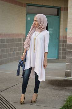 Sincerely Maryam...love it but I gotta cover my  boobs and wear flats...I could work this -Khalida