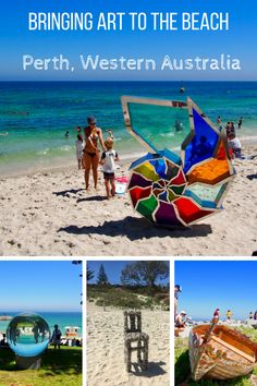 Sculpture by the Sea at Cottesloe Beach in Perth is an annual must-see for me, both to see the art and because I love how it brings art to the people. Australia Tours, Perth Western Australia, Australia Travel, Visit Australia, Places To Travel, Travel Destinations, Travel Europe, Cottesloe Beach, Sea Sculpture